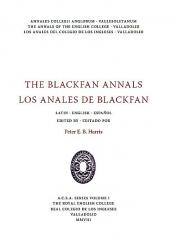 John Blackfan. Annales Collegii Anglorum Vallisoletanum