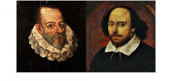 Resultado de imagen para cervantes shakespeare